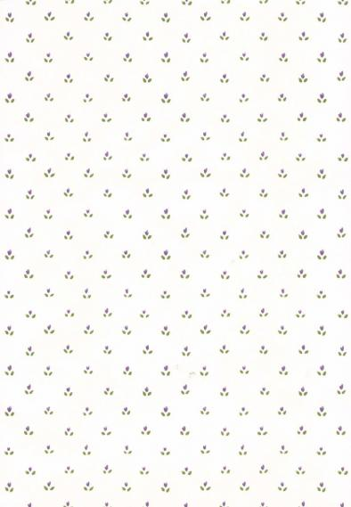 non-woven vinyl wallpaper with small pattern 52507
