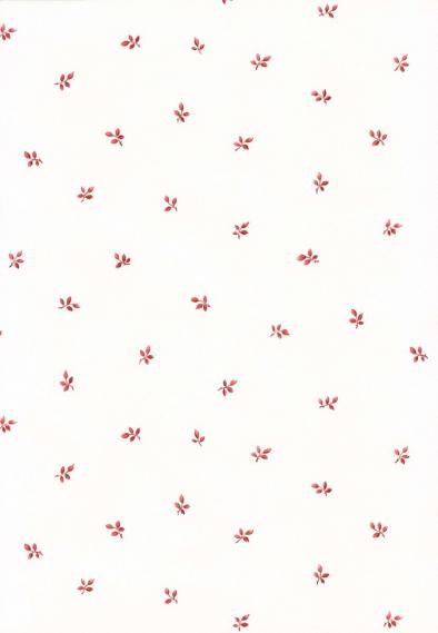 non-woven vinyl wallpaper with small leafs 53105