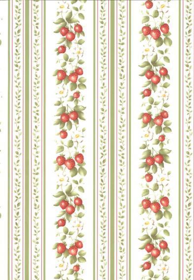 non-woven vinyl wallpaper with stripe pattern 53301