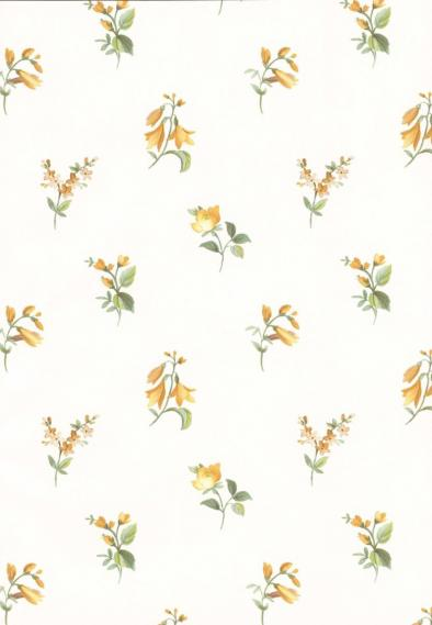 non-woven vinyl wallpapern with flowers 53404