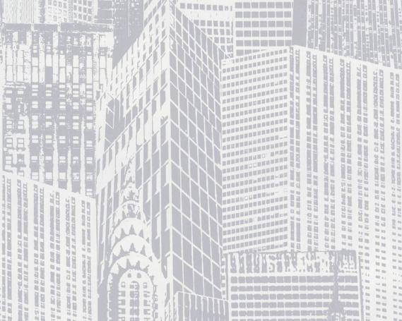Vliestapete mit Hochhäusern in New York 2528-38