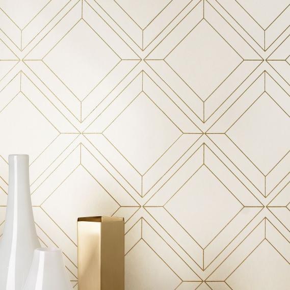 non-woven wallpaper Vico Gold Venezia Khroma VEN403