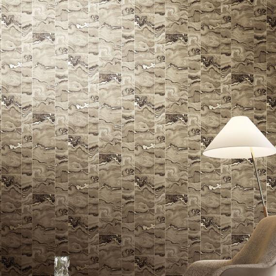 non-woven wallpaper Pietro Earth Venezia Khroma VEN604