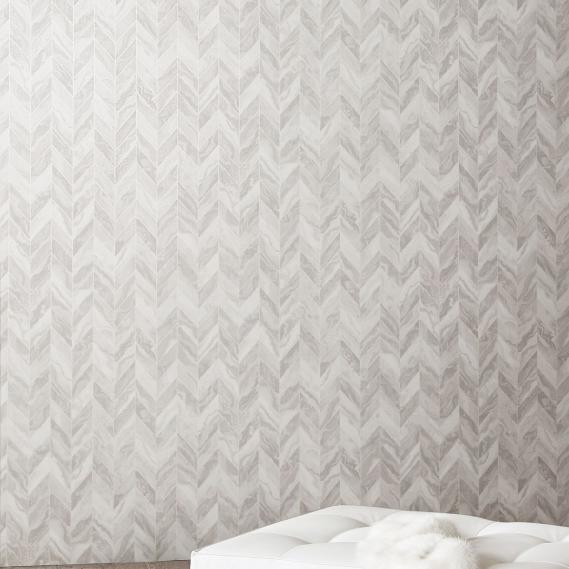 non-woven wallpaper Gema Silver Venezia Khroma VEN701