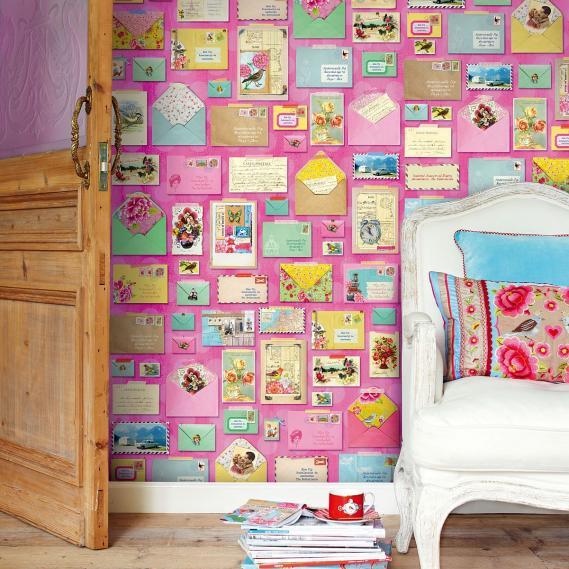 Wandbild You've got mail pink Eijffinger 313108