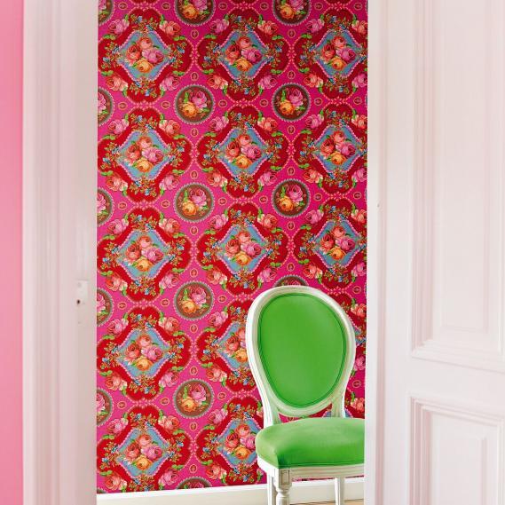 Wandbild Singing Roses pink Eijffinger 313114