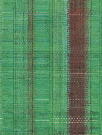 Wandbild Papier Gewebe Smaragd Eijffinger 375200