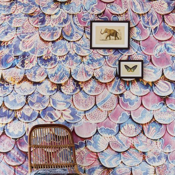 Wandbild Jakobsmuschelwand Antik Eijffinger 375210