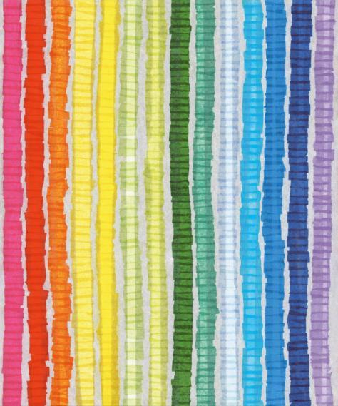 mural Toit Petit Eijffinger Paper Rainbow 354159