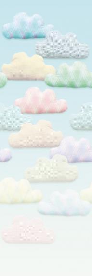 Wandbild Toit Petit Eijffinger Cloud 9 354168