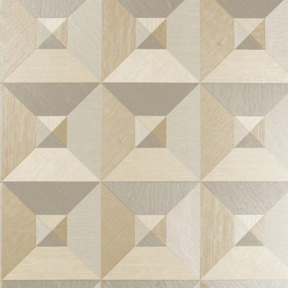 Vinyltapete Pyramid Arte Focus 26501 Hellbraun und Hellgrau