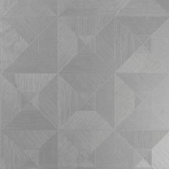 Vinyltapete Squared Arte Focus 26512 Hellgrau