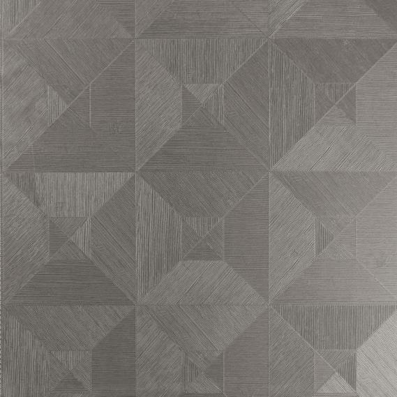 vinyl wallpaper Squared Arte Focus 26513 dark brown