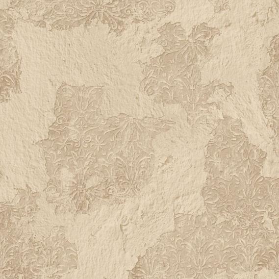Vliestapete Galerie Grunge alter Putz mit Verzierungen