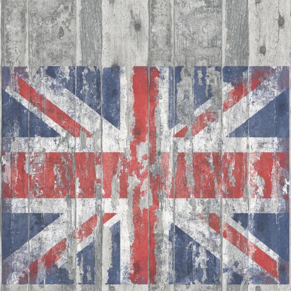 Vliestapete Galerie Grunge Union Jack