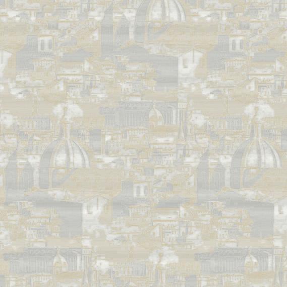 Vinyltapete Vlies Sirpi Italian Classic 22923 Hellgrau, Weiß, Gold