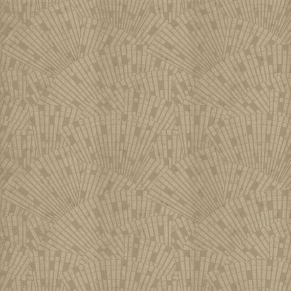 Arte metallics non-woven wallpaper Metal X Signum Classo 37652 brown / silver / satin lacquer