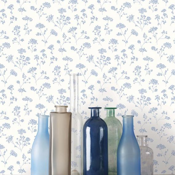 vinyl wallpaper on non-woven Miniatures 2 flowering branches