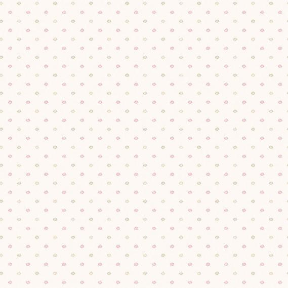 vinyl wallpaper on non-woven Miniatures 2 small pattern G67900 light red / cream