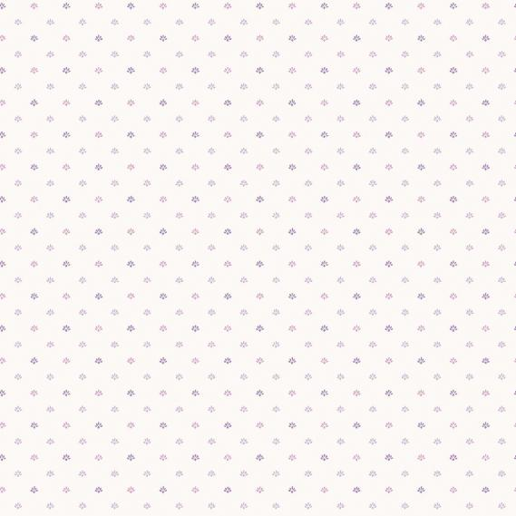 vinyl wallpaper on non-woven Miniatures 2 small pattern G67901 purple / white