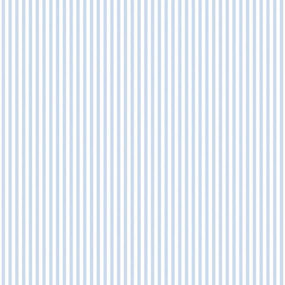 vinyl wallpaper on non-woven Miniatures 2 stripes G67908 light blue / white