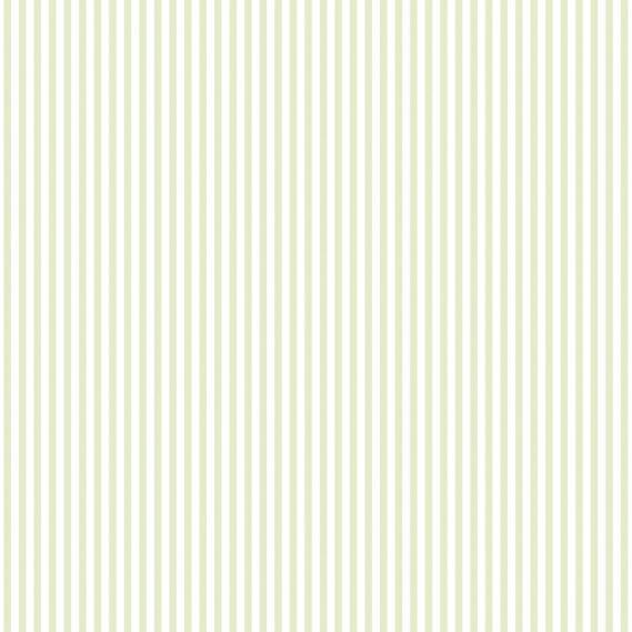 vinyl wallpaper on non-woven Miniatures 2 stripes G67910 light green / white
