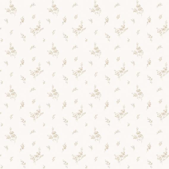 vinyl wallpaper on non-woven Miniatures 2 twigs G67916 light brown / white