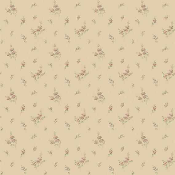 vinyl wallpaper on non-woven Miniatures 2 twigs G67917 colorful