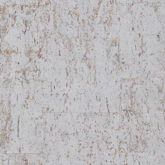 Papiertapete Kork Silber Eijffinger 389550