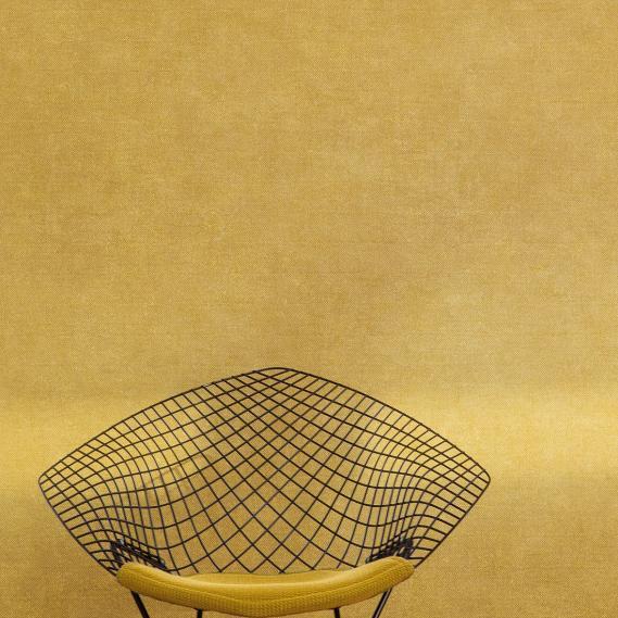 non-woven wallpaper Lys Oxygen Khroma CLR005 sunyellow