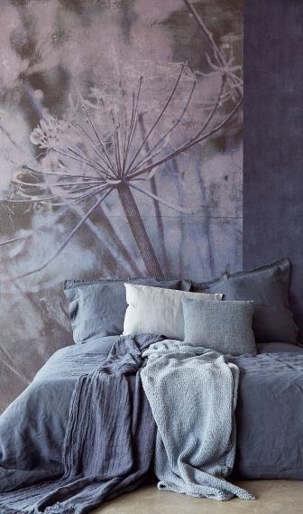Wandbild Eijffinger LINO Acanthus Blau 379106