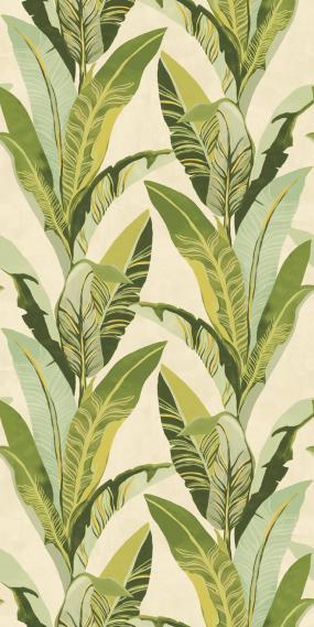 Wandbild Eijffinger Vivid Miami Green 384600