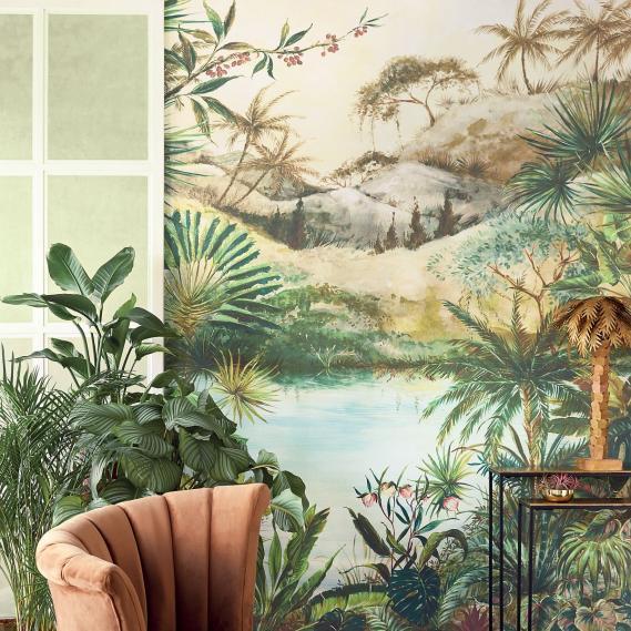 Wandbild Eijffinger Vivid Tropical Large 384602