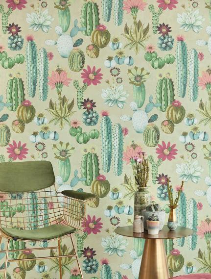 Wandbild Eijffinger Vivid Cacti 384605