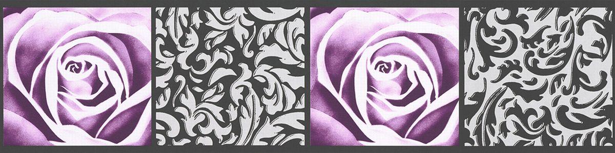 bord re selbstklebend rosen grafisches muster 9019 10 bord ren decowunder. Black Bedroom Furniture Sets. Home Design Ideas
