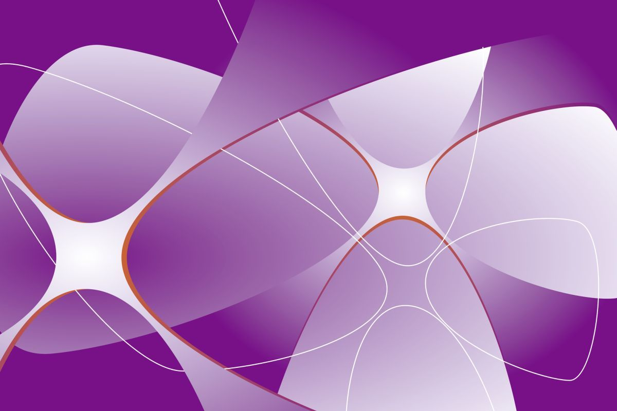 Fototapete grafische kleebl tter in lila 0369 4 xxl for Tapeten in lila