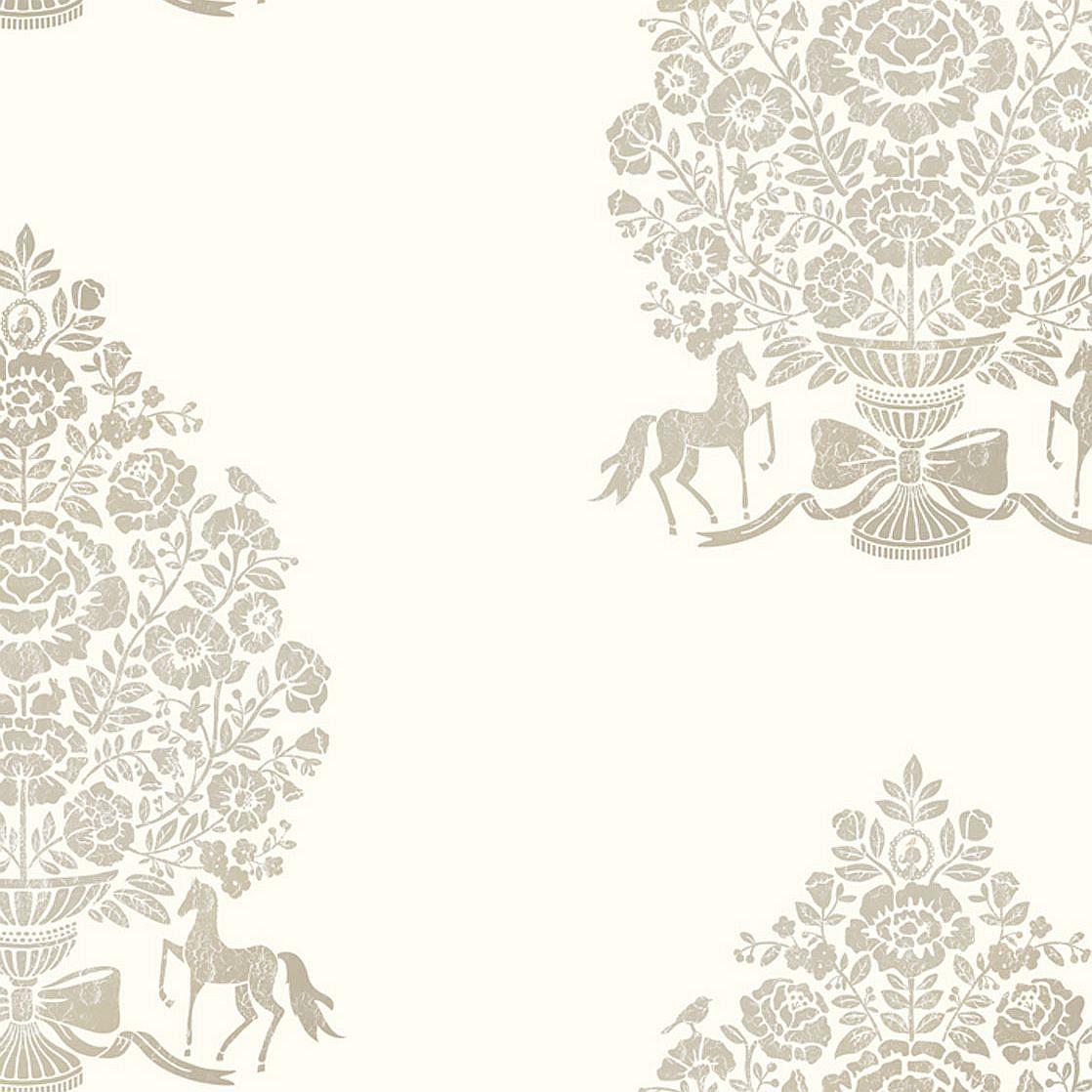 vliestapete eijffinger pip 3 ornamente pferde 341050. Black Bedroom Furniture Sets. Home Design Ideas