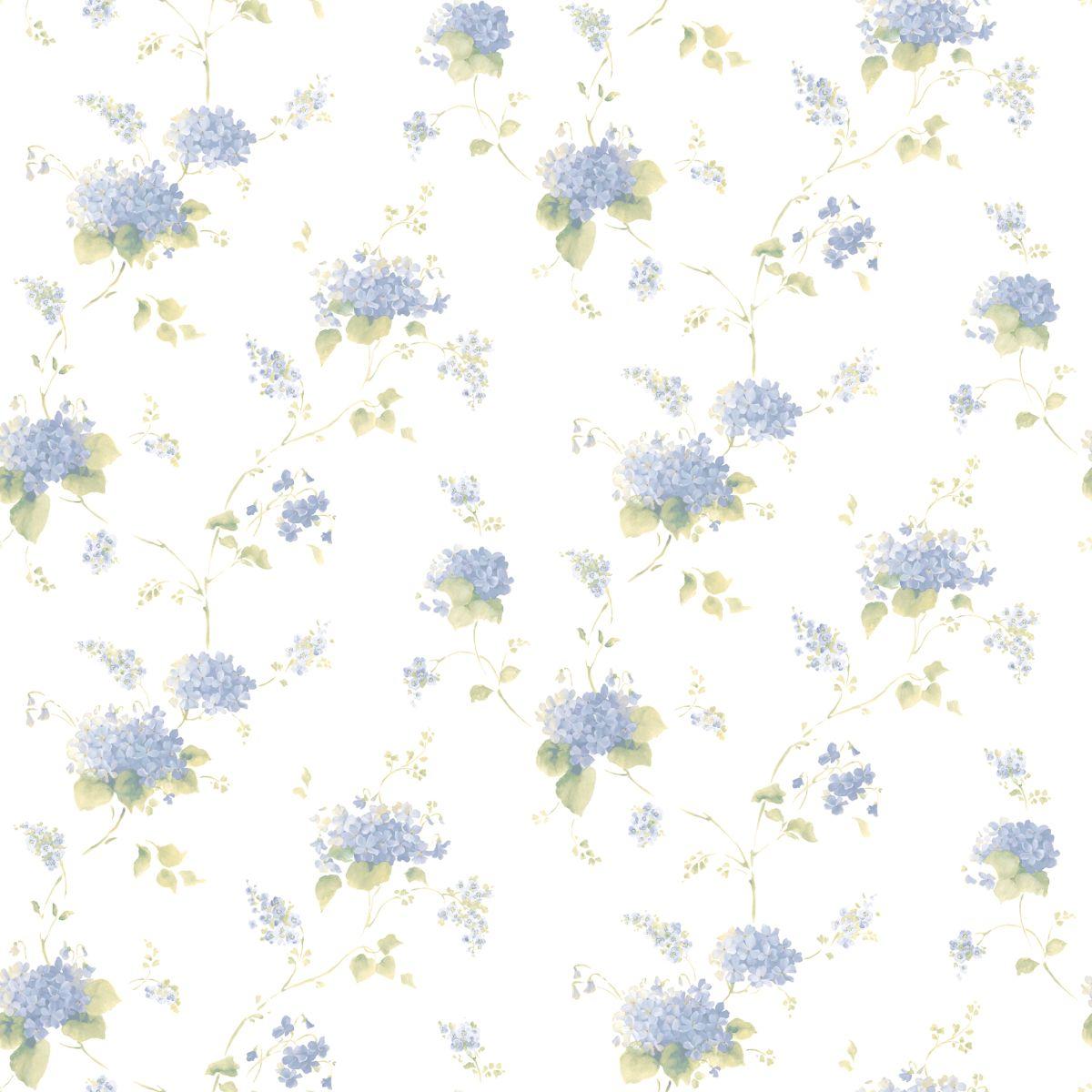 papier vinyl tapete mit floralem muster cn24645 vinyltapete decowunder. Black Bedroom Furniture Sets. Home Design Ideas
