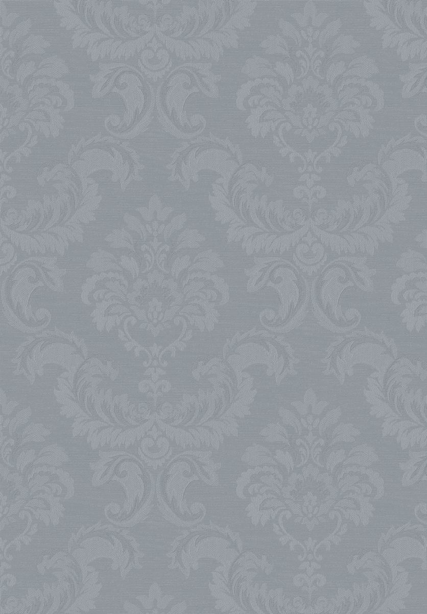 hochwertige tapeten und stoffe tapete simply silks barock grau sk34768 decowunder. Black Bedroom Furniture Sets. Home Design Ideas